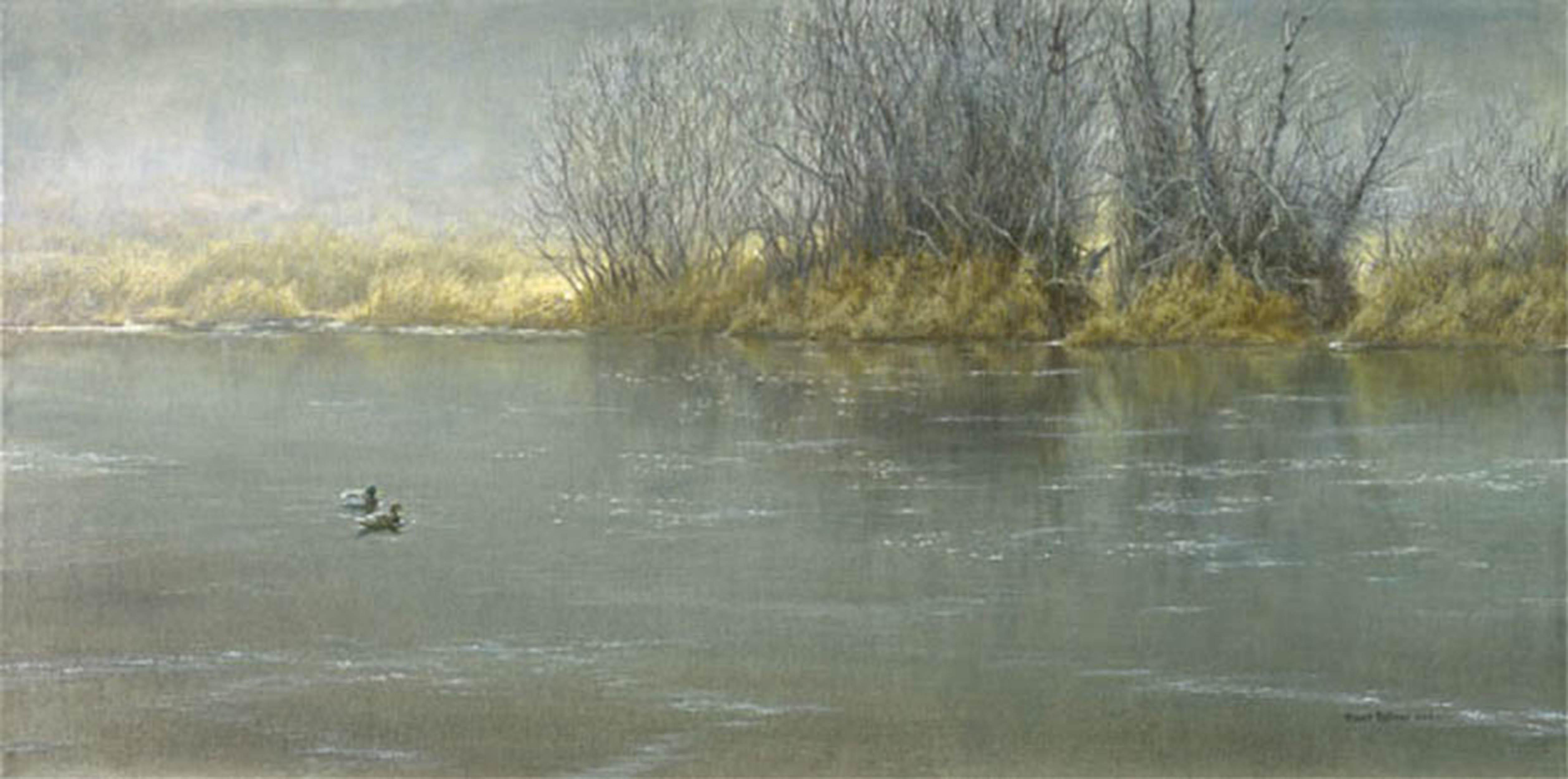 """Robert Bateman's """"High Water - Mallard Pair"""" Limited Edition Canvas Signed And Numbered"""