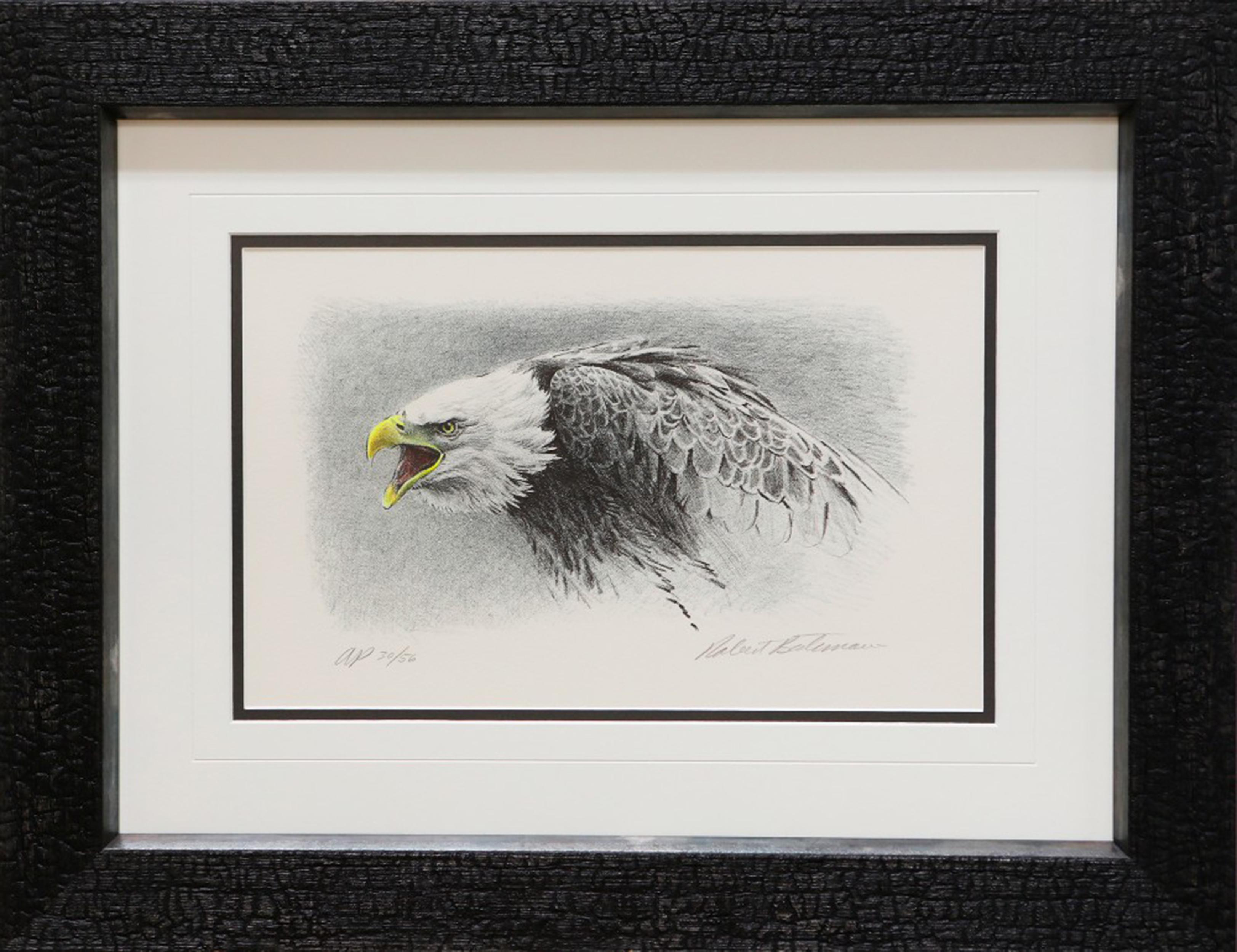 """Robert Bateman's """"Air, Forest and The Watch"""" Limited Edition Artist Proof Original Lithograph"""