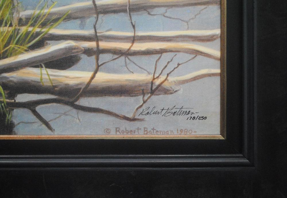 "Robert Bateman's ""Autumn Overture- Moose"" Limited Edition Canvas"