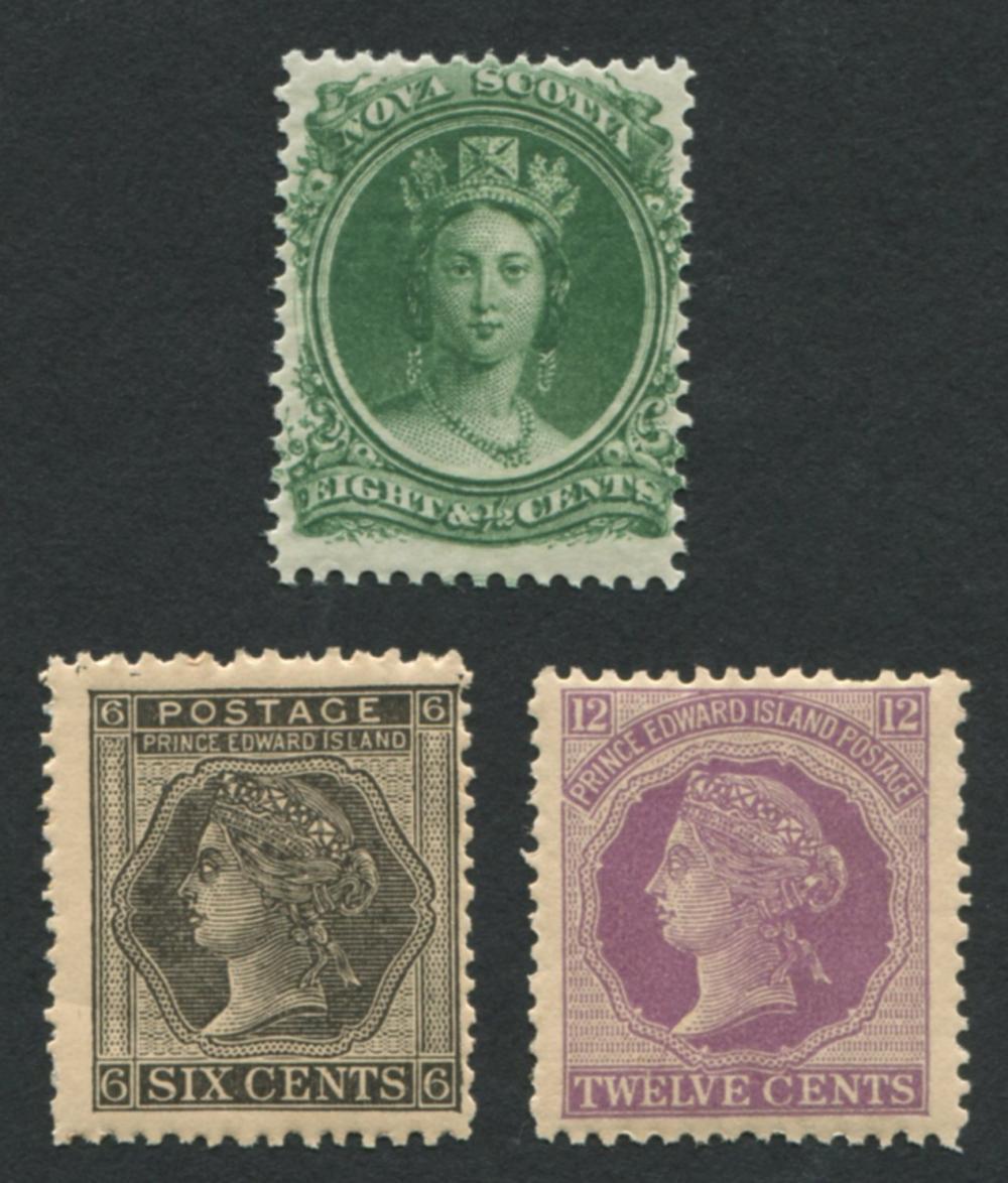 Canada Provincial Stamps - Nova Scotia, Prince Edward Island