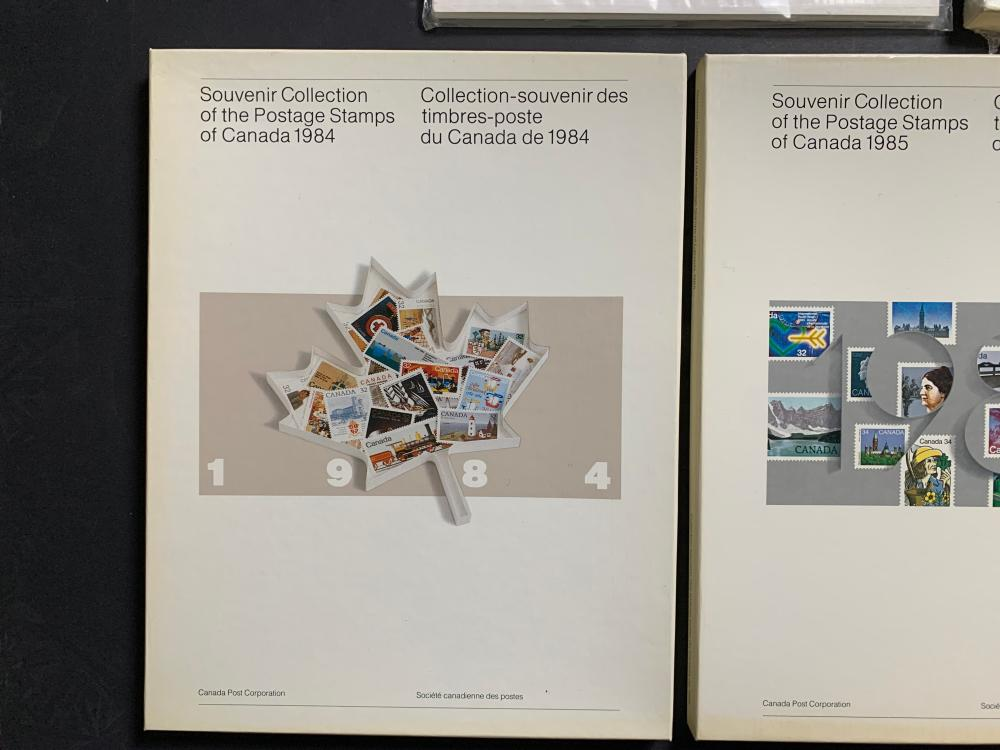 Canada Annual Souvenir Postage Stamp Collection