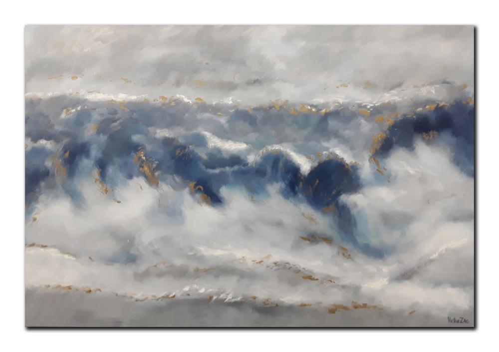 Victor Zag Original Acrylic on Canvas Painting
