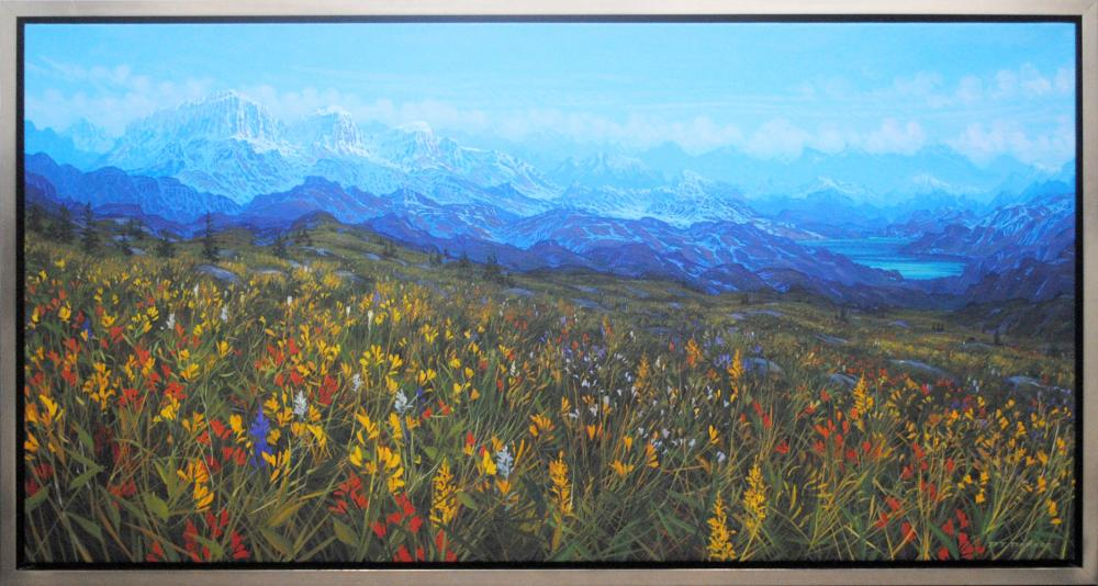 "Randolph Parker's ""Mood of The Mountains"" Original"