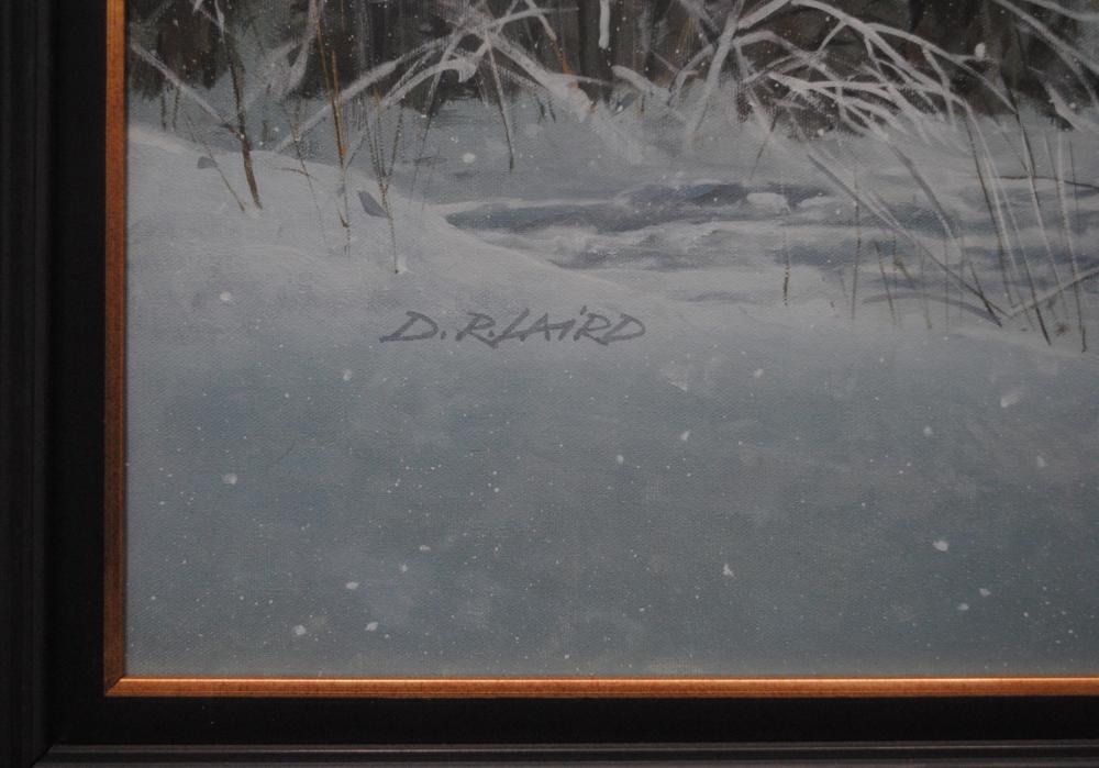 "Doug Laird's ""On The Pond- Pick Up"" Original"