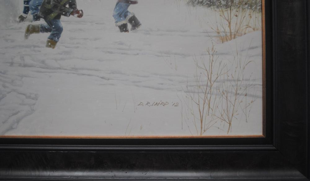 "Doug Laird's ""Snowball Frolic"" Original"