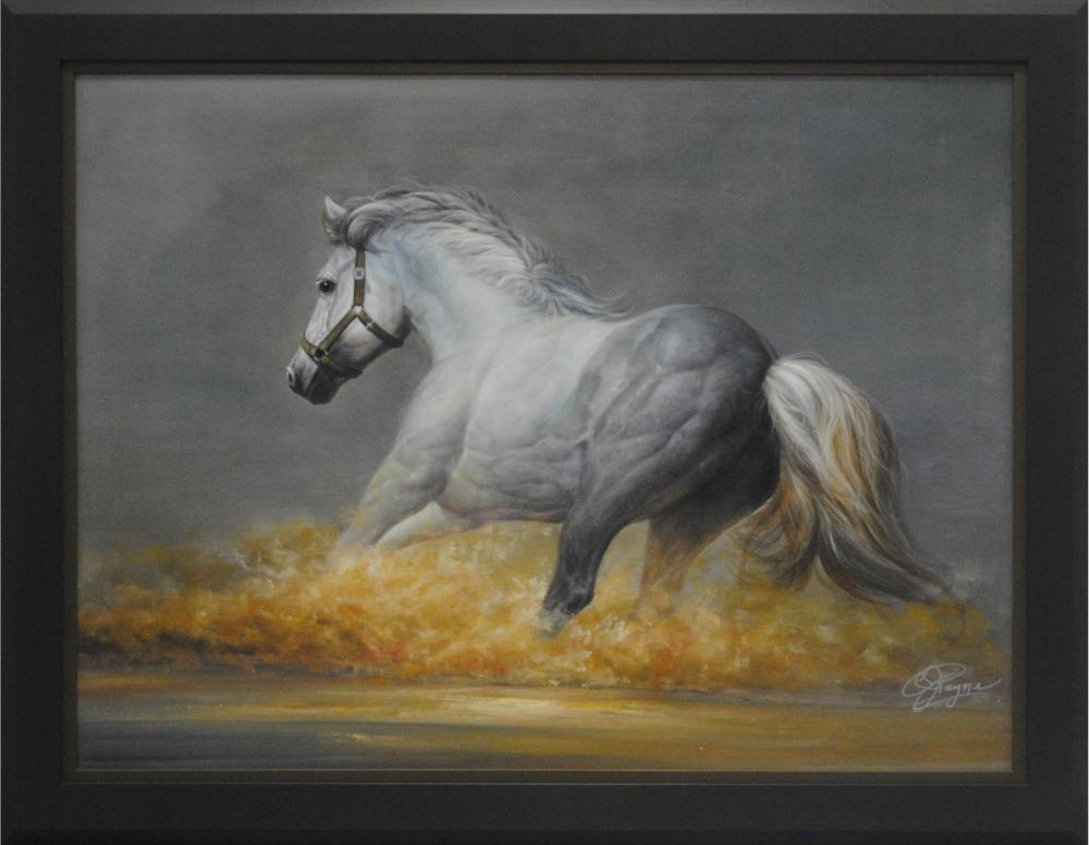 """C.J. Payne's """"Stallion"""" Original"""