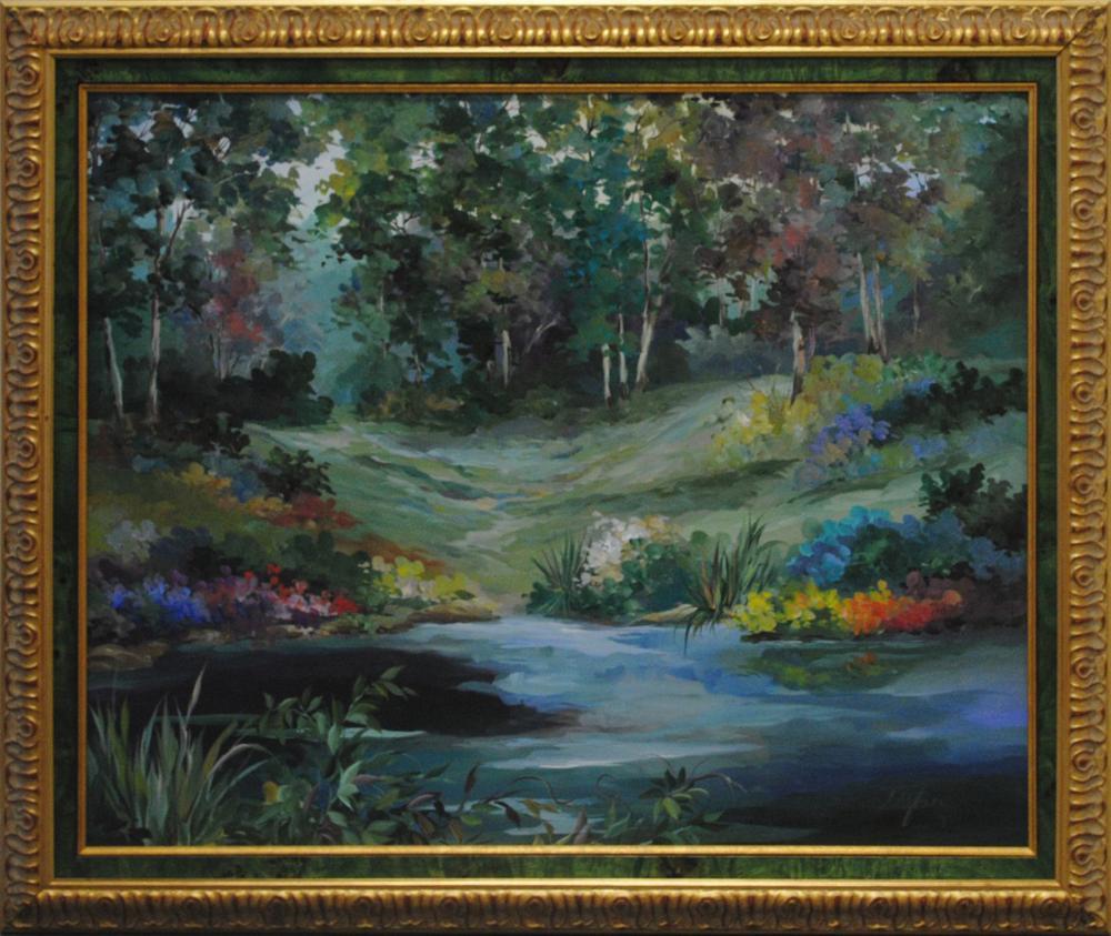 Original Landscape Acrylic on Canvas Painting