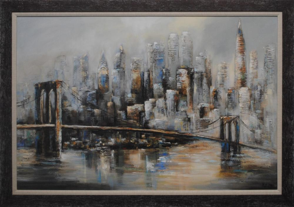 "Victor Zag's ""New York In Abstract"" Original"