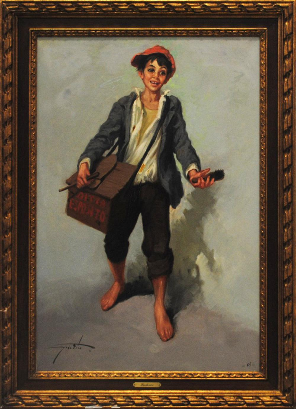 "Frederico's ""Shoe Shine Boy"" Original"