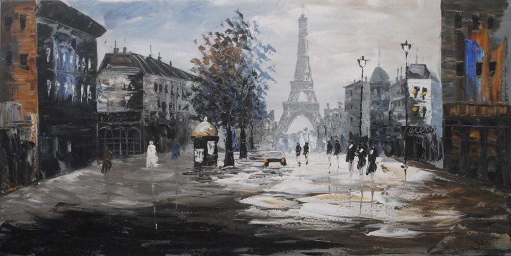 """""""Paris"""" on Canvas"""