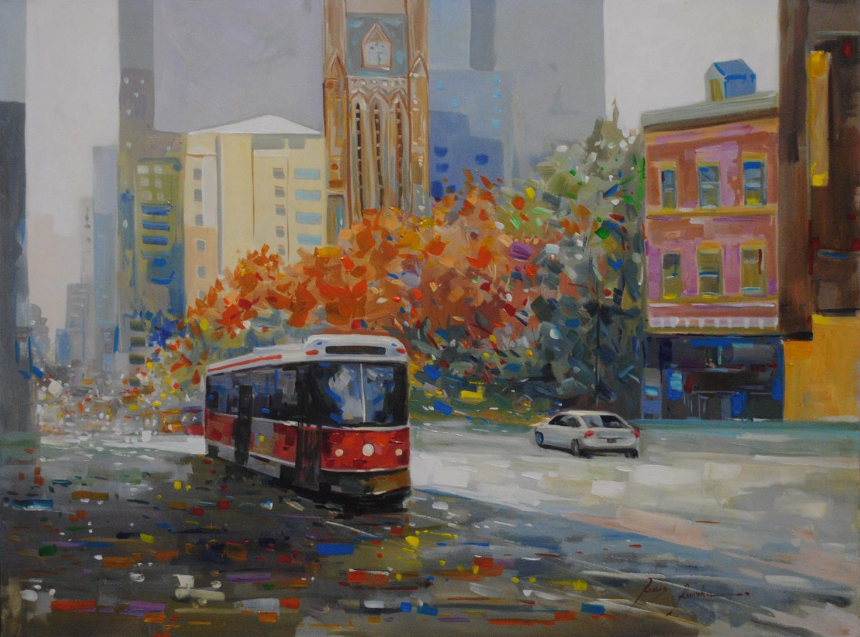 "Redis Ranxha's ""Streetcar 13"" Original"
