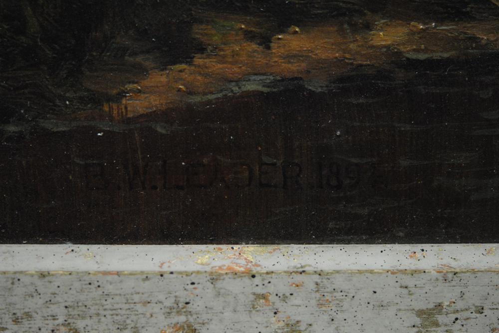 Benjamin Williams Leader Original Painting