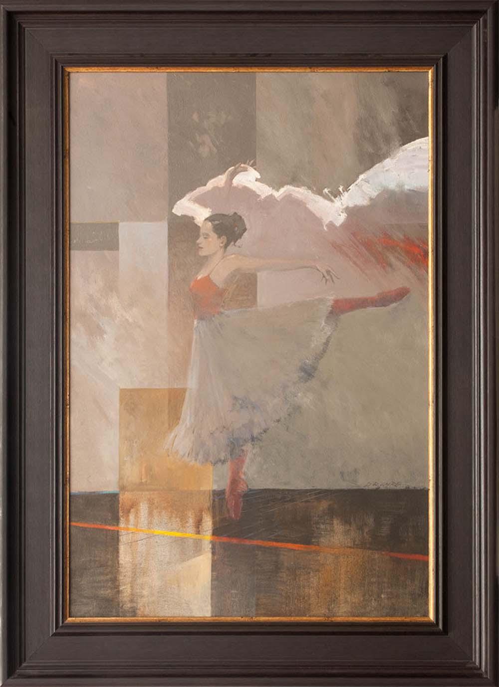 "Doug Laird's ""Ballet Dancer"" Original Painting"