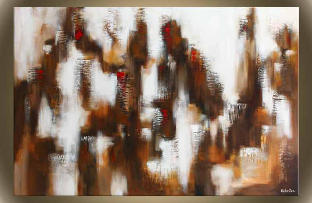 """Victor Zag's """"Big City Lights"""" Giclee Canvas Reproduction"""