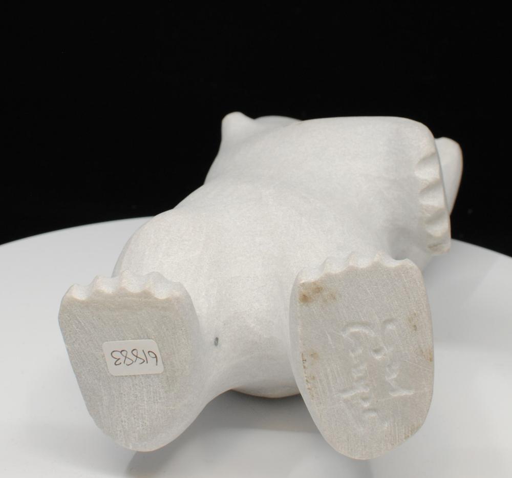"Johnny Manning's ""Bear"" Original Inuit Carving"