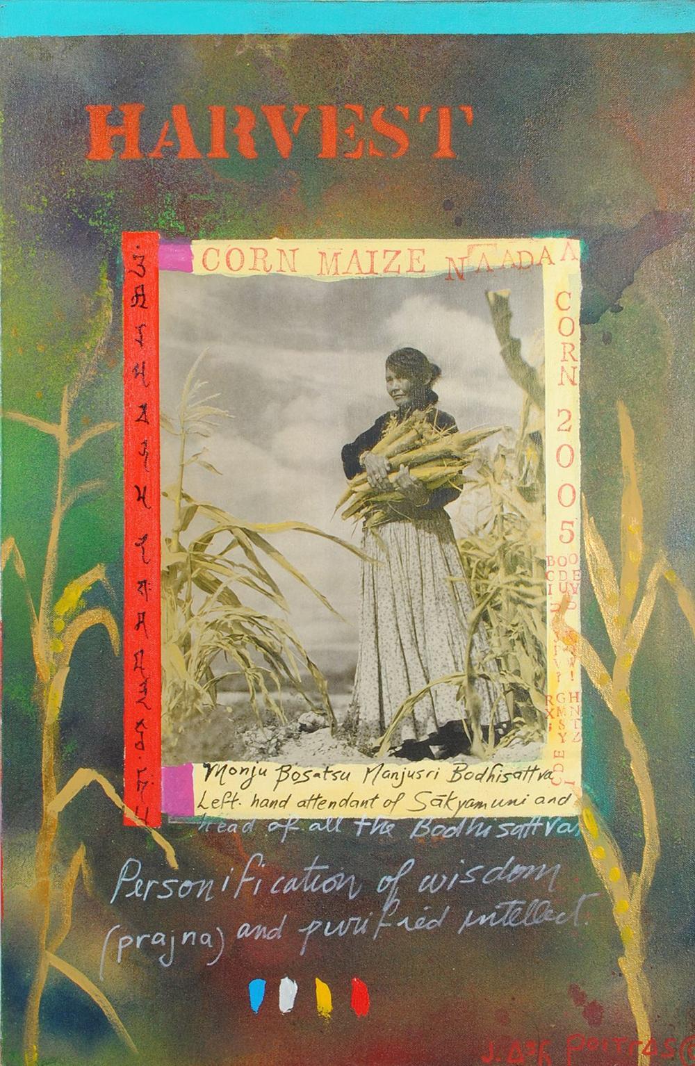 "Jane Ash Poitras's ""Harvest"" c2004 Original Painting"