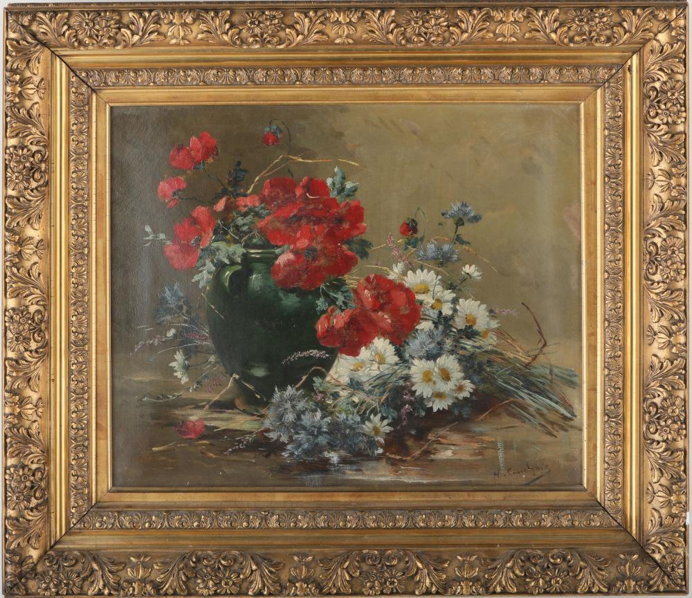Eugene Henri Cauchois Original Painting