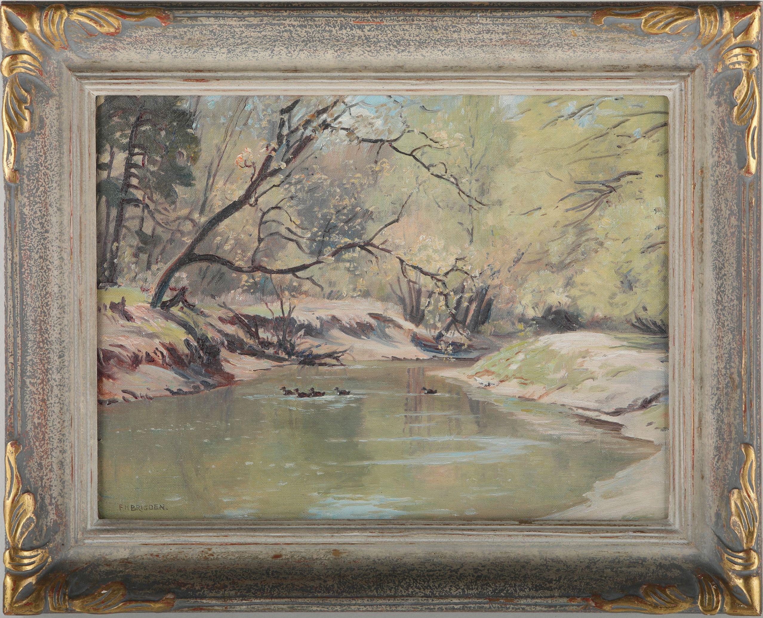 Frederick Henry Brigden Original Painting