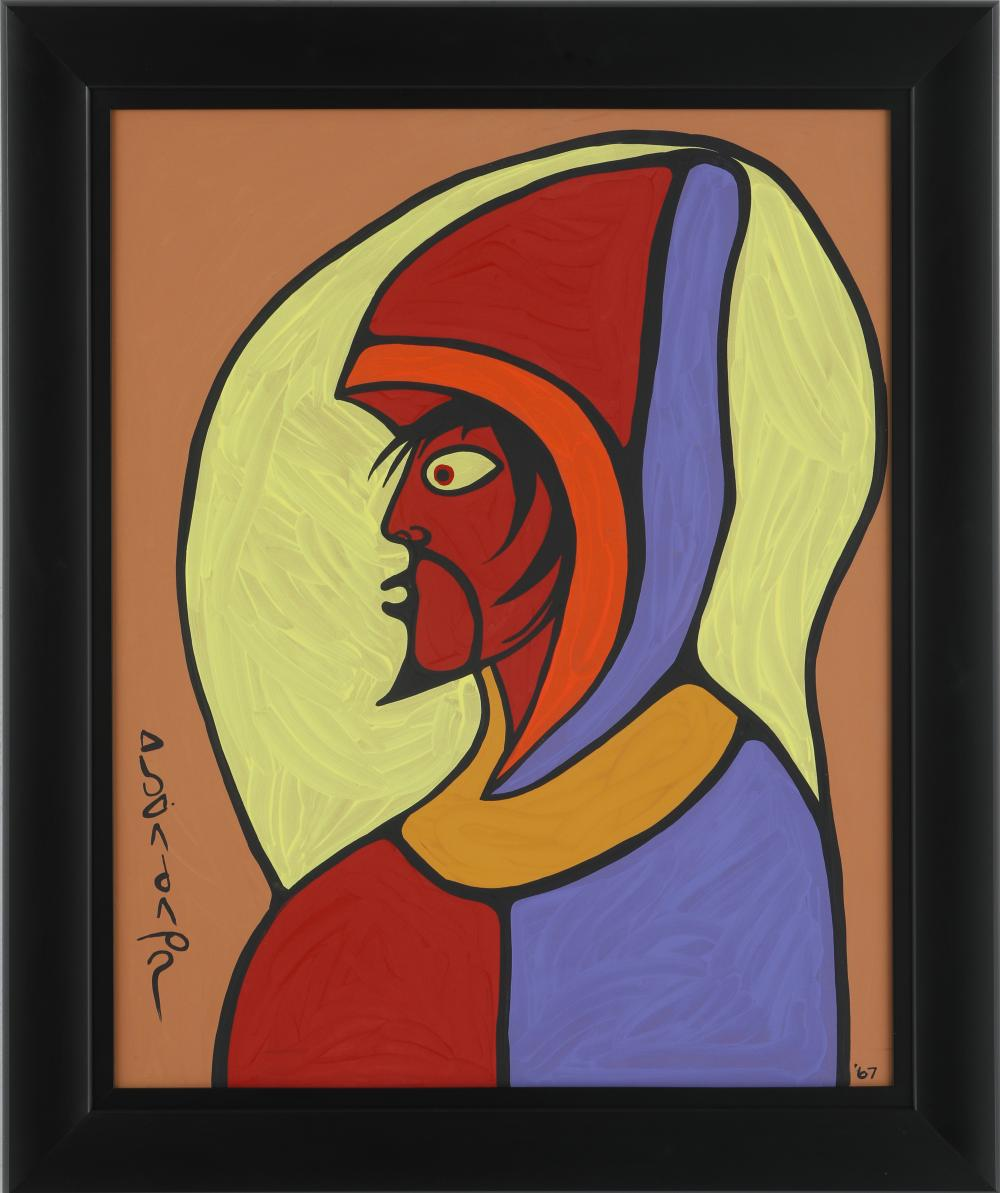 """Norval Morrisseau's """"Child of the Son"""" Original"""
