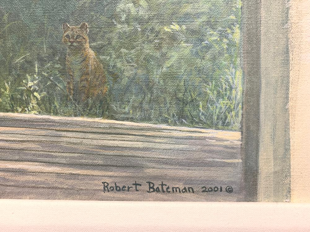 "Robert Bateman's ""Lucas Porch"" ORIGINAL"