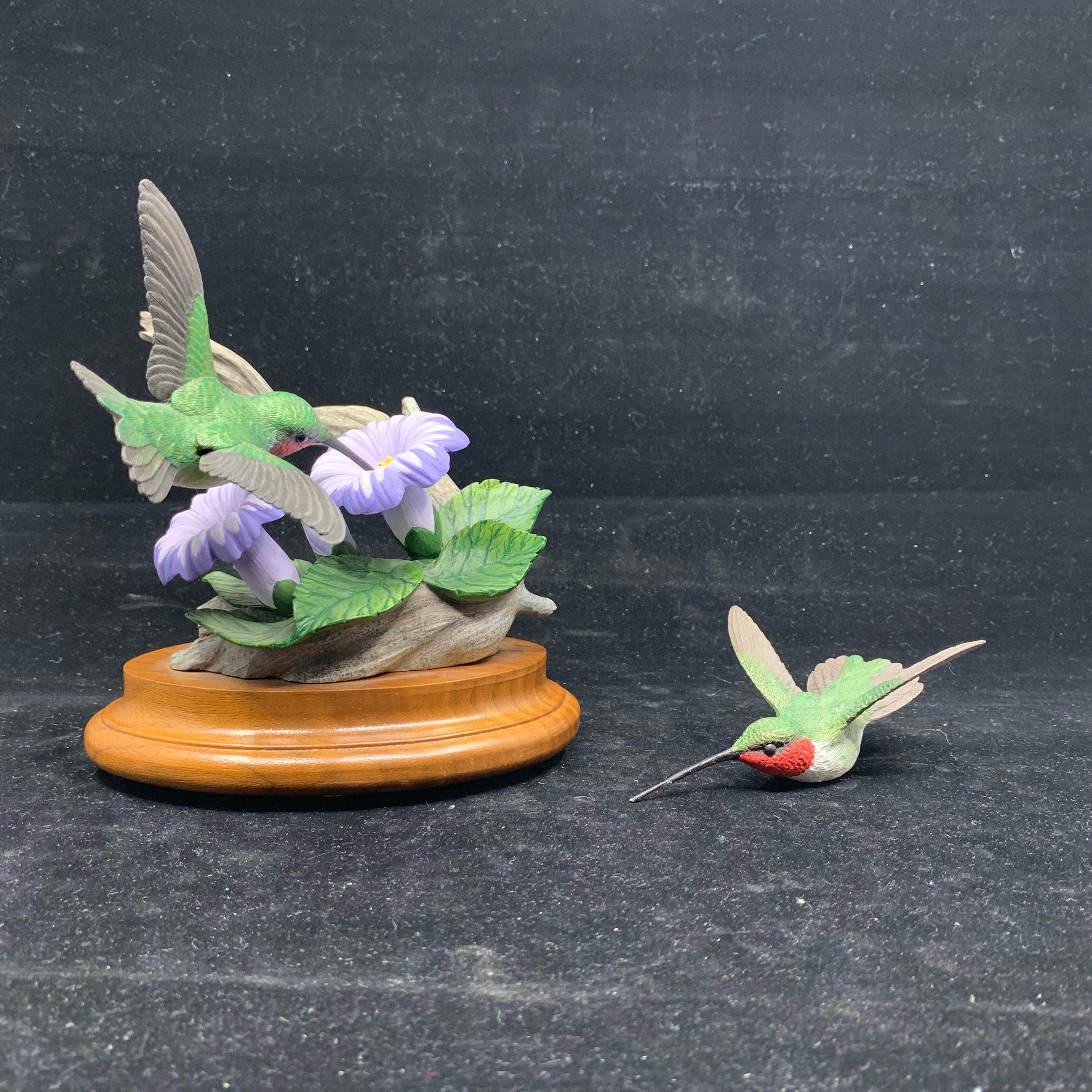 "Paul Burdette's ""The Flying Jewel"" Original Carving"