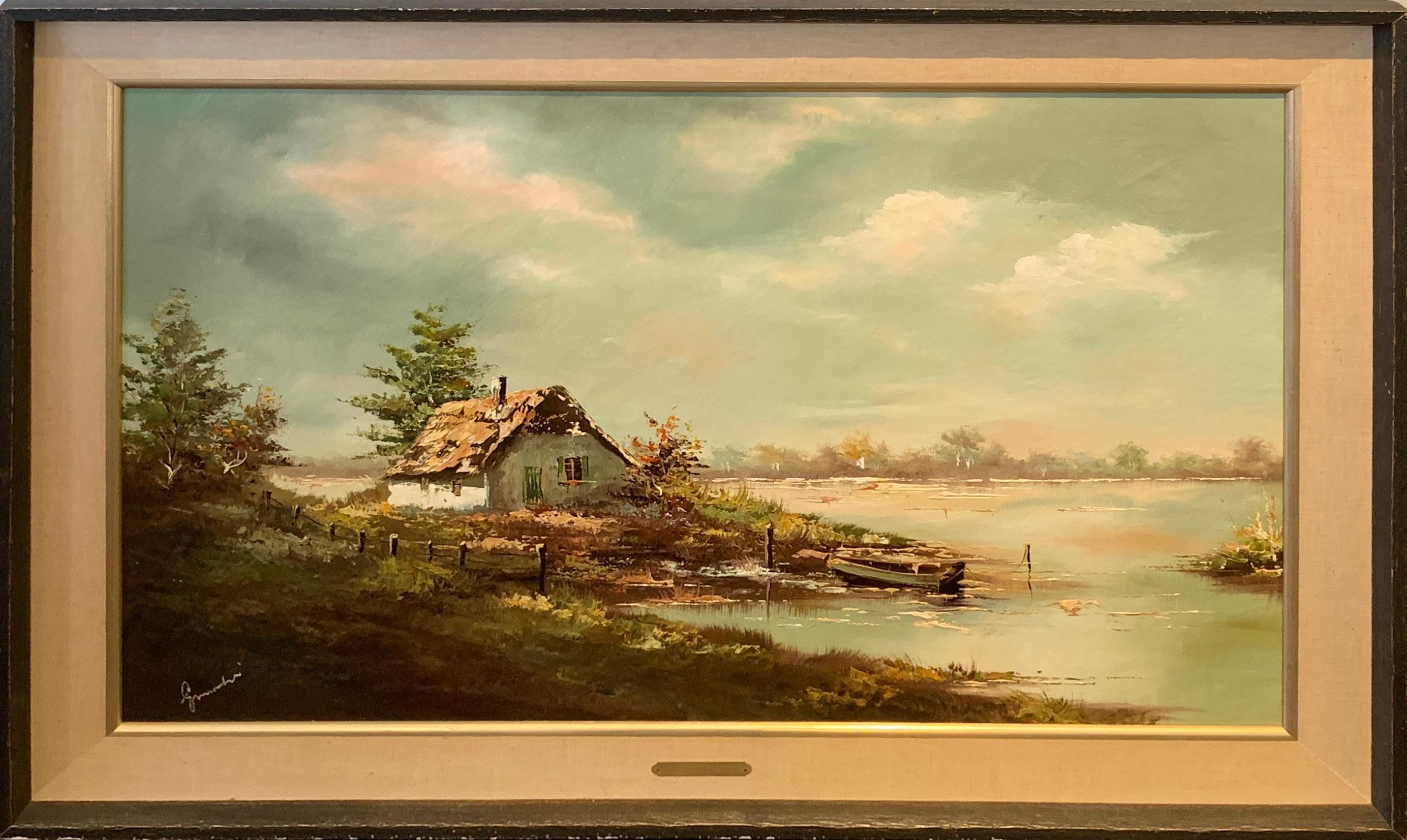 Edward Grimmaldi Orignal Painting