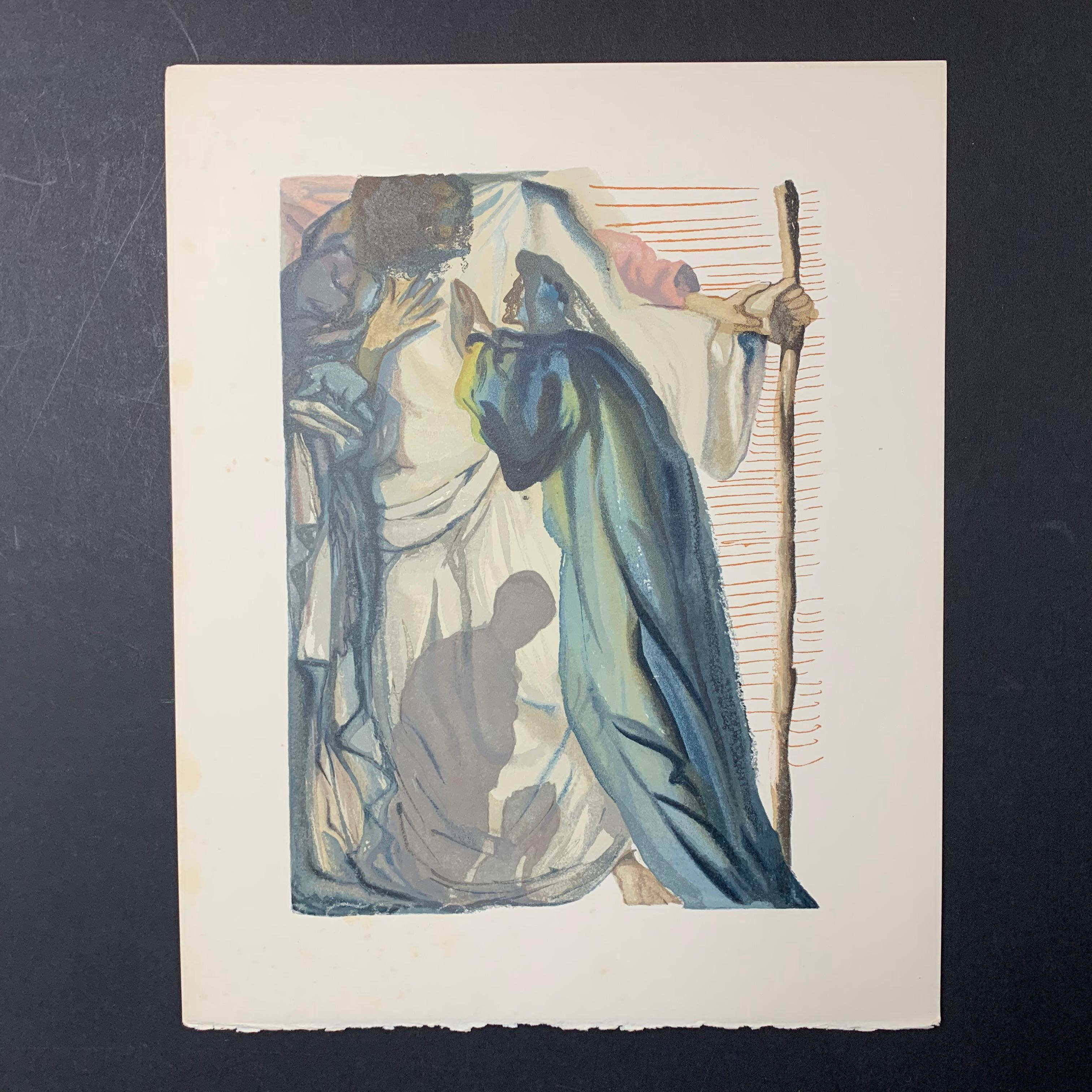 "Salvador Dali's ""The Blind for Envy"" Print"