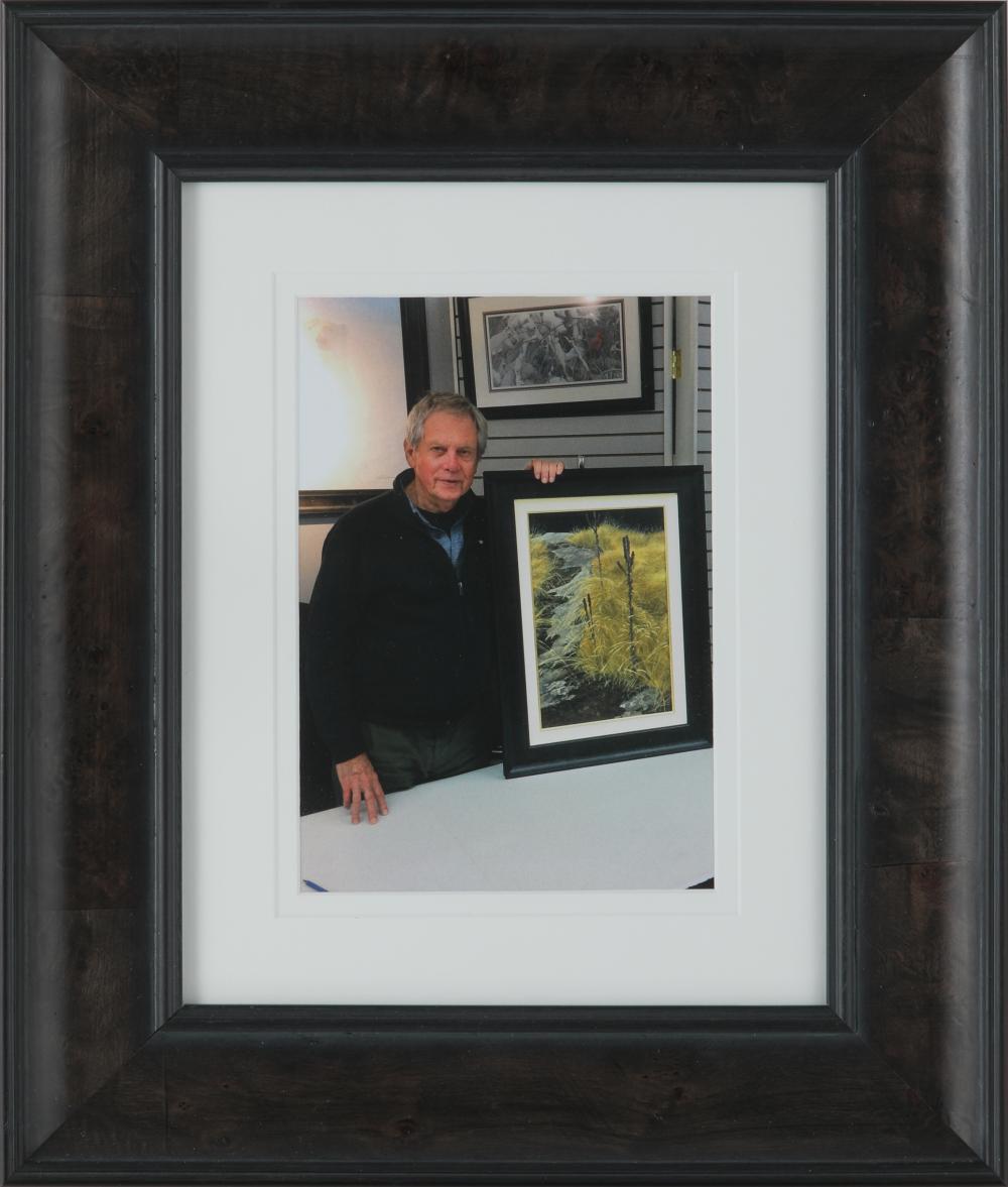 "Robert Bateman's ""Haliburton Rocks Mullen"" Original Painting"
