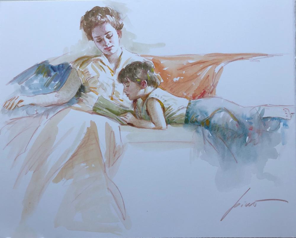 Pino Original Watercolour