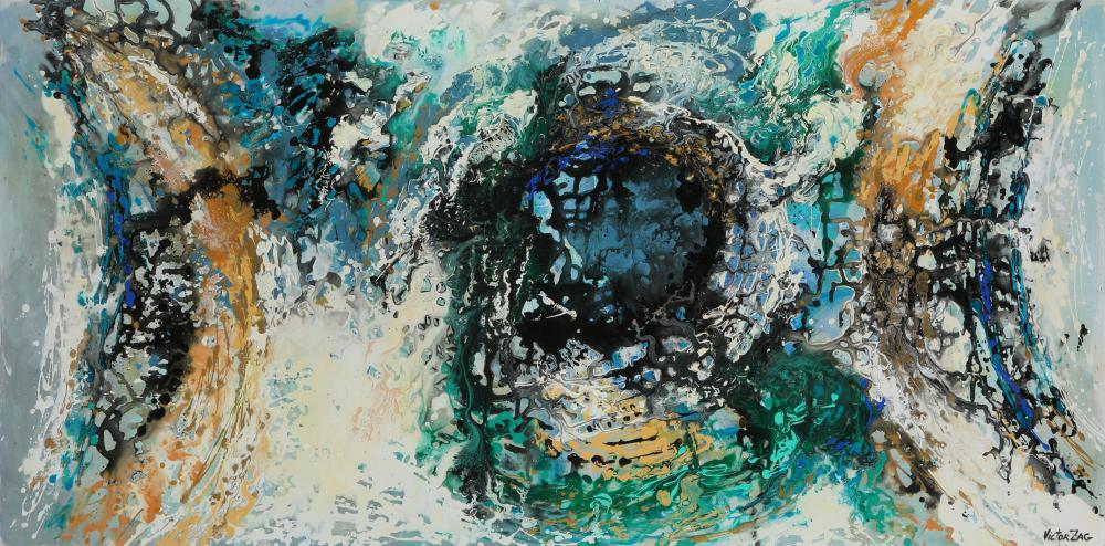 """Victor Zag's """"In The Eye of the Storm"""" Original"""