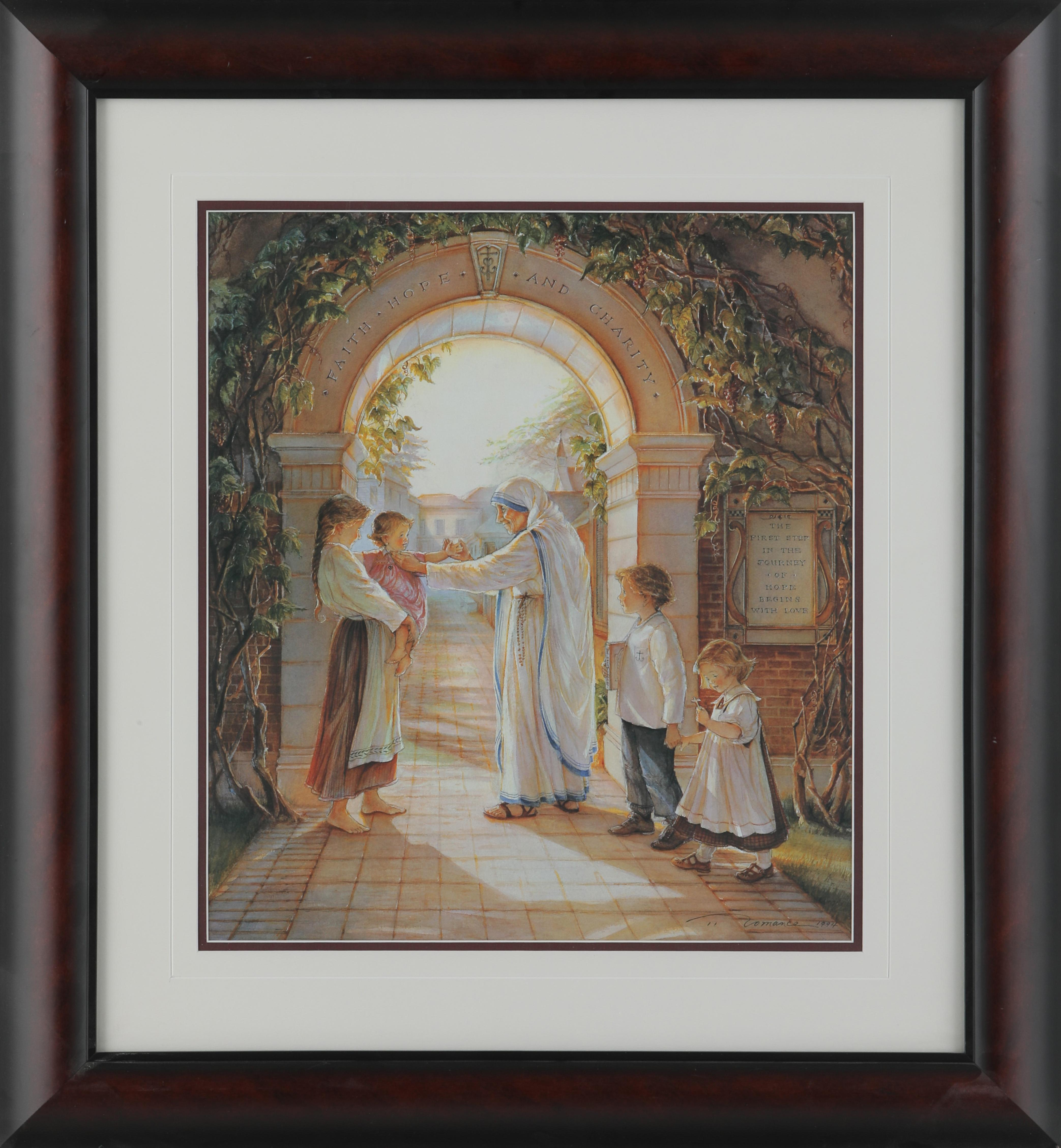 "Trisha Romance's ""Journey of Hope"" Open Edition Framed Print"