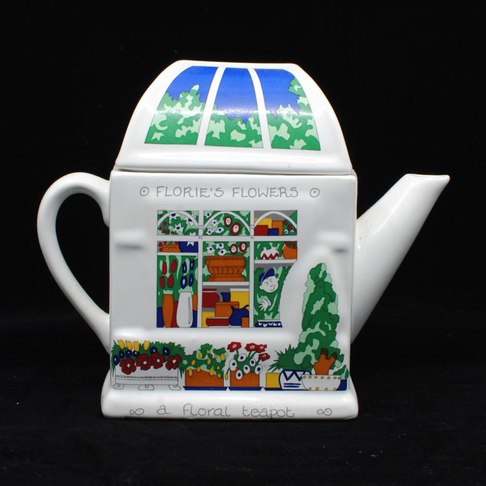"Wade English Ceramic Tea Pot ""Florie's Flowers"""