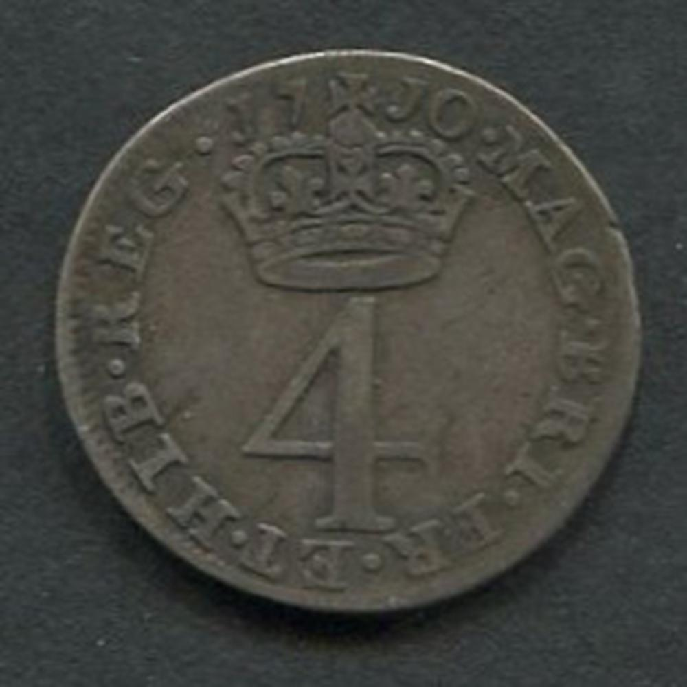 Great Britain 1710 Anne Maundy 4d