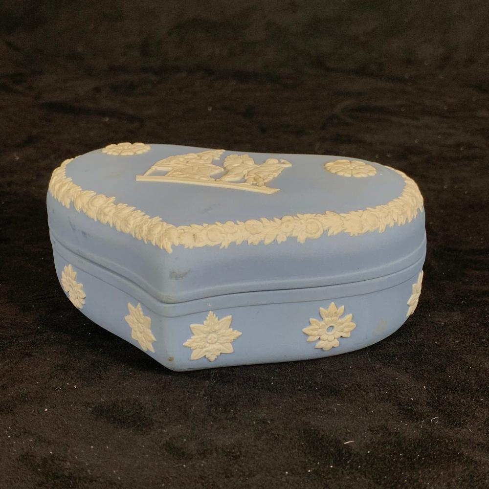 Wedgwood Container with Lid