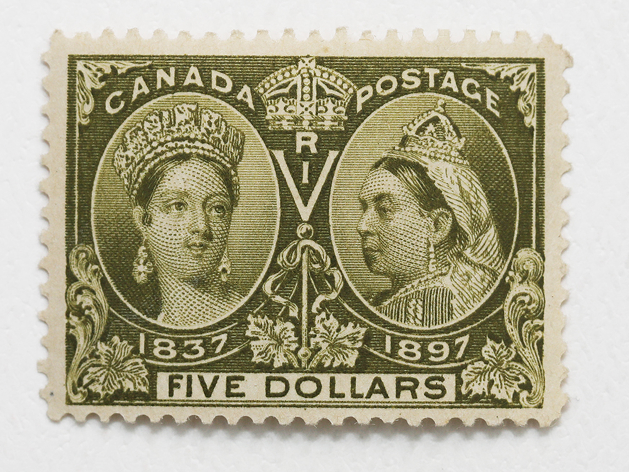 Canada 1897 $5 S/C #65 MNH OG