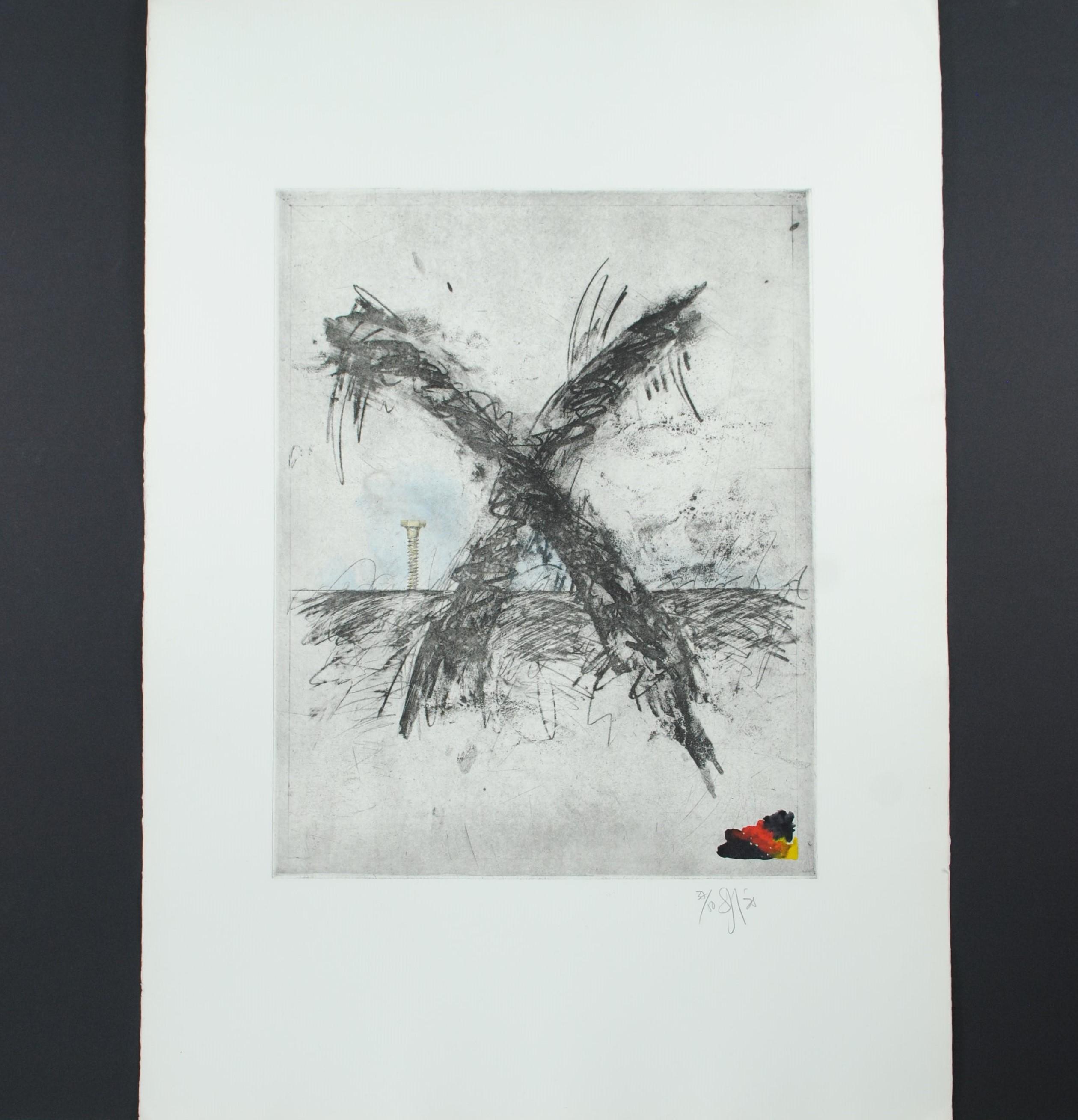 "Donald Saff's ""Screw (Color)"" Limited Edition Print"