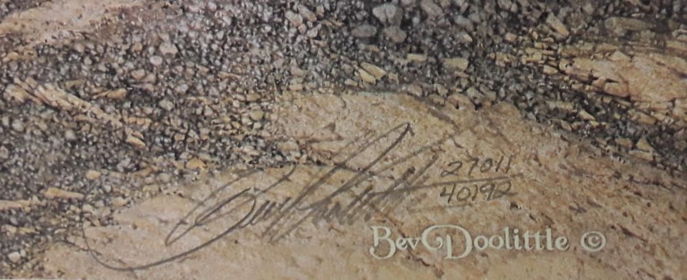 "Bev Doolittle's ""Sacred Circle"" Limited Edition Print"