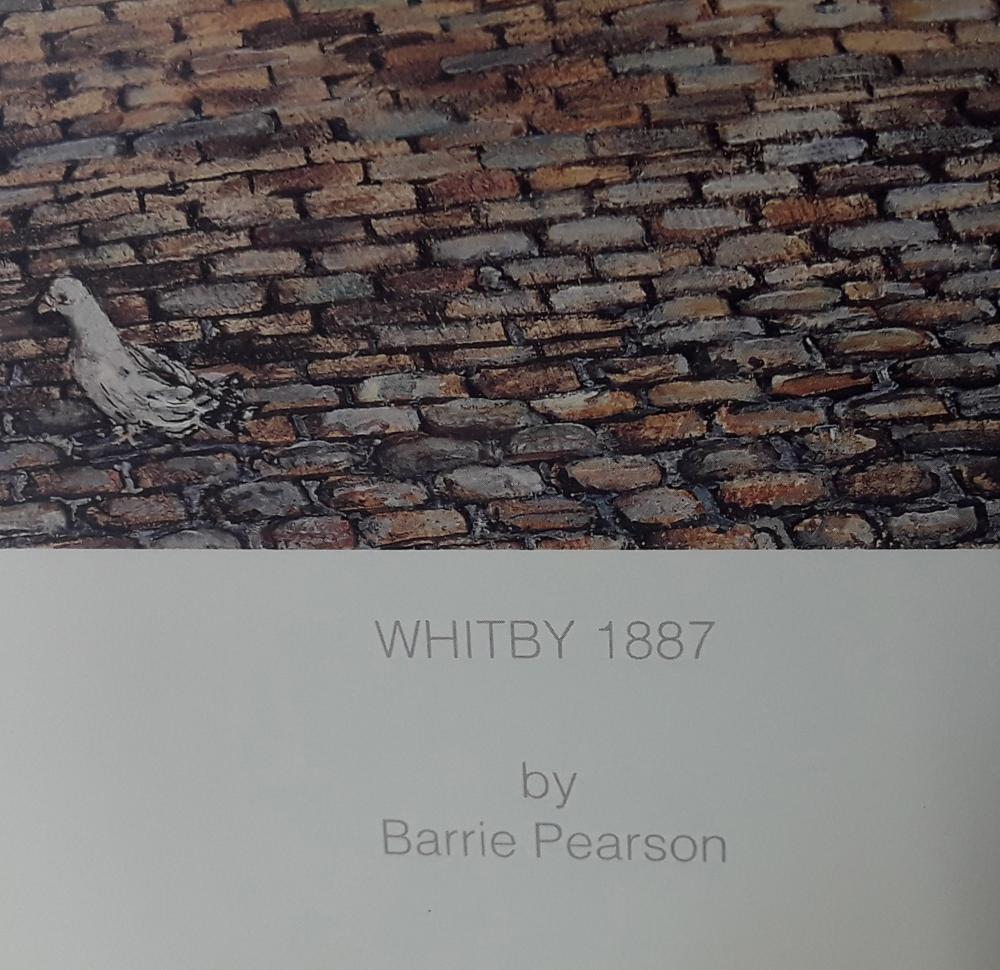 "Barrie Pearson's ""Whitby 1887"" Limited Edition Print"