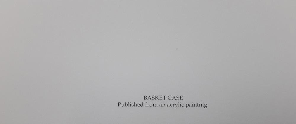 "Amy Brackenbury's ""Basket Case"" Limited Edition Print"