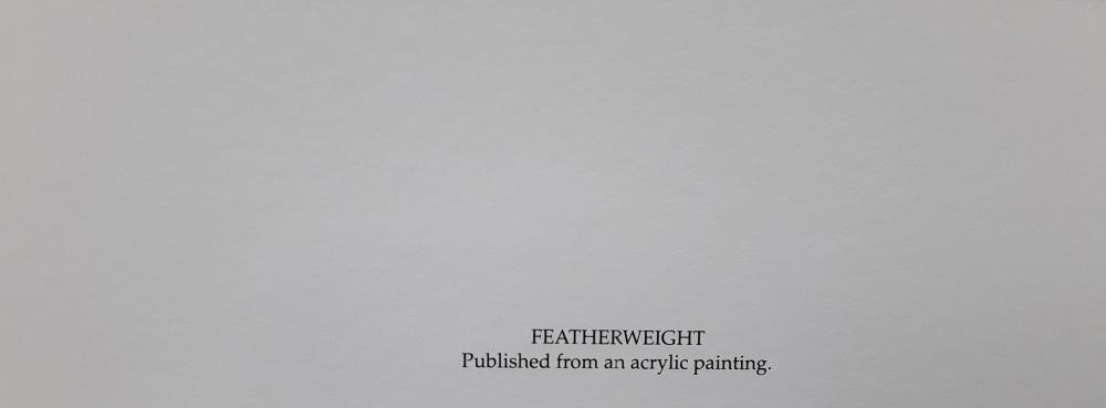 "Amy Brackenbury's ""Featherweight"" Limited Edition Print"