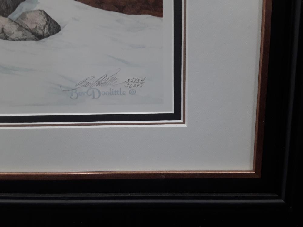 "Bev Doolittle's ""Season of The Eagle"" Limited Edition Framed Print"