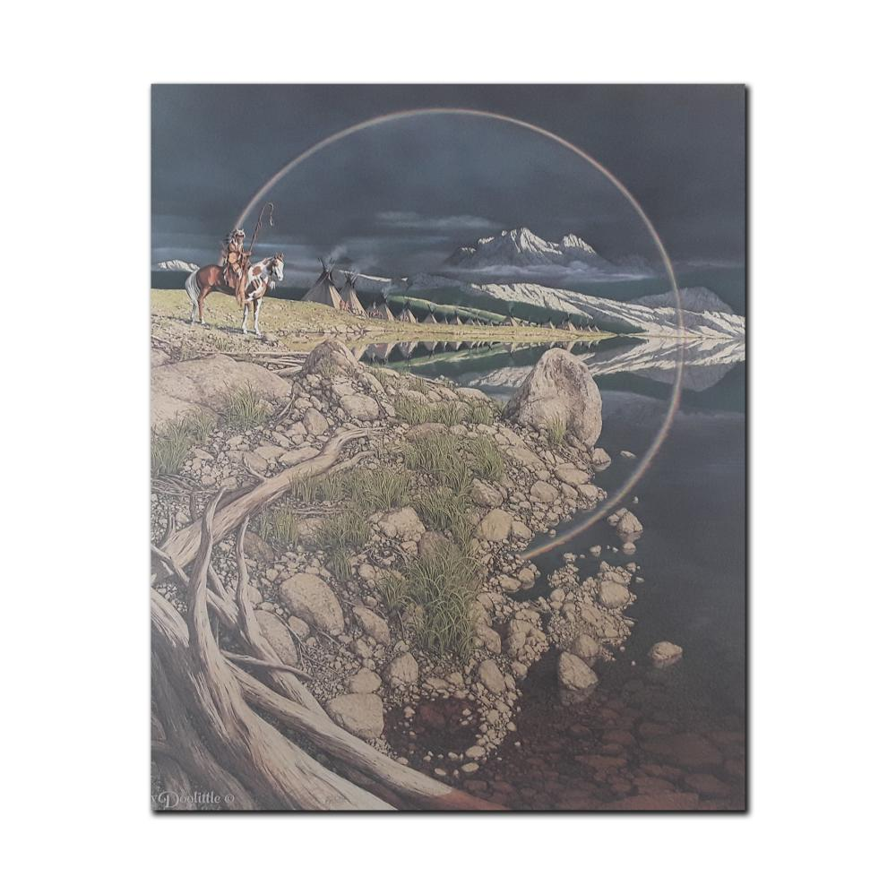 """Bev Doolittle's """"The Sentinel"""" Limited Edition Print"""
