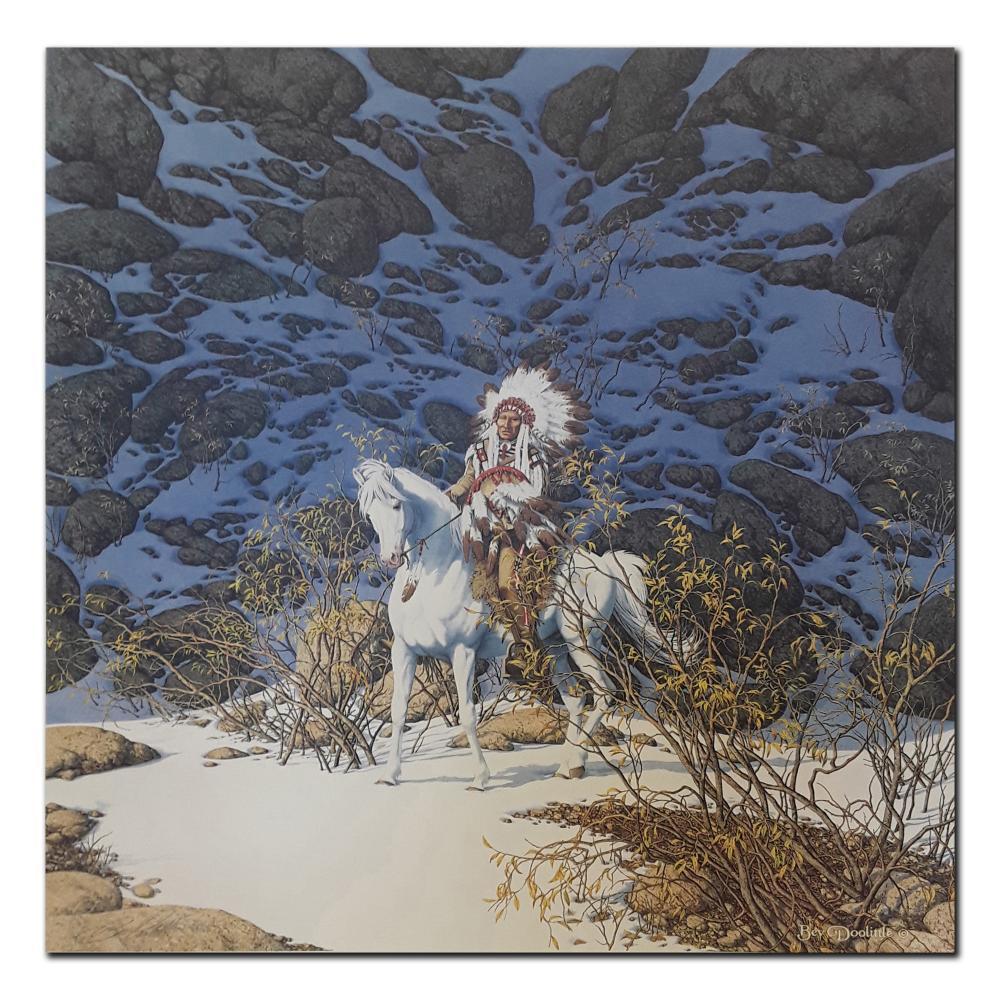 "Bev Doolittle's ""Eagle Heart"" Limited Edition Print"