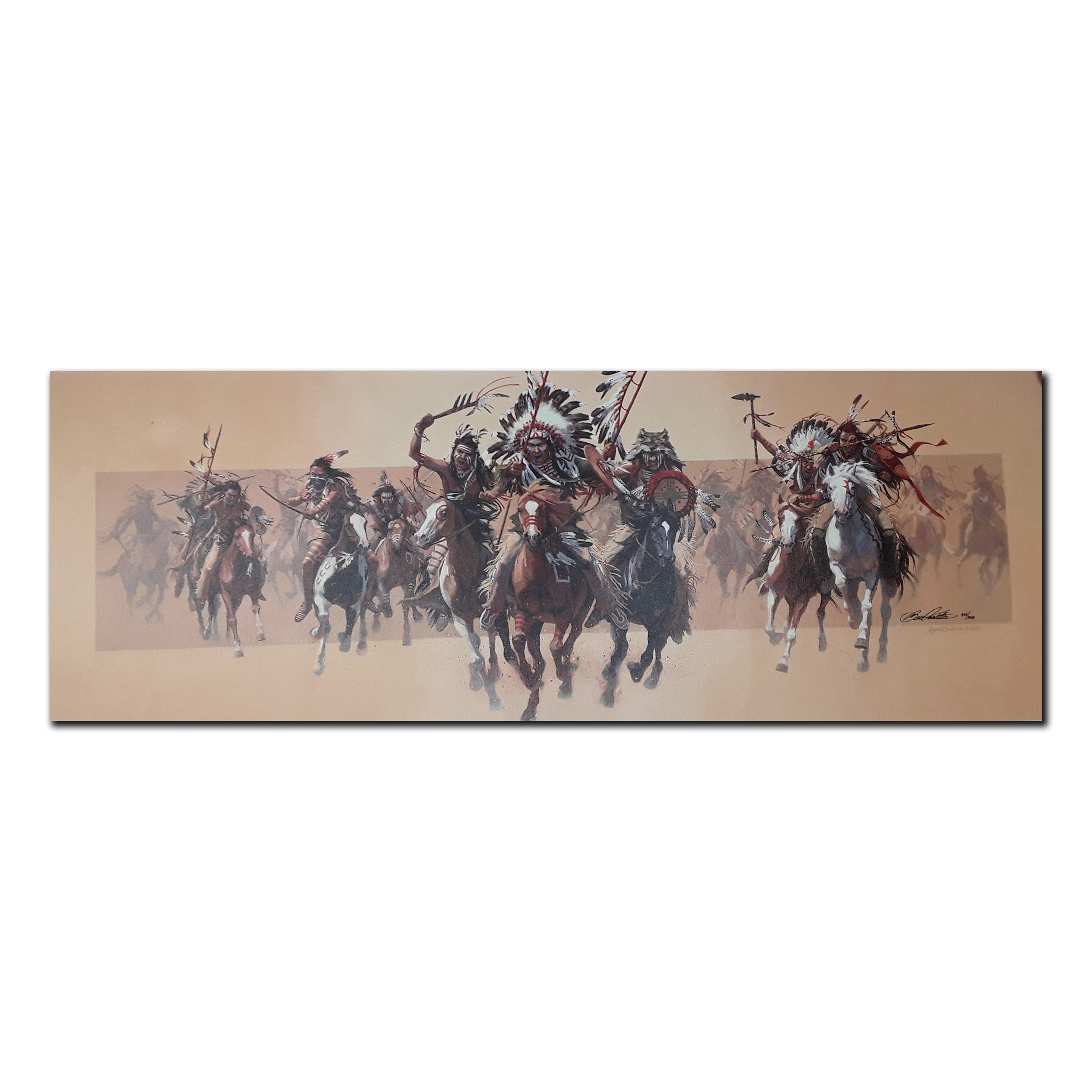 """Bev Doolittle's """"Beyond Negotiations"""" Limited Edition Canvas"""