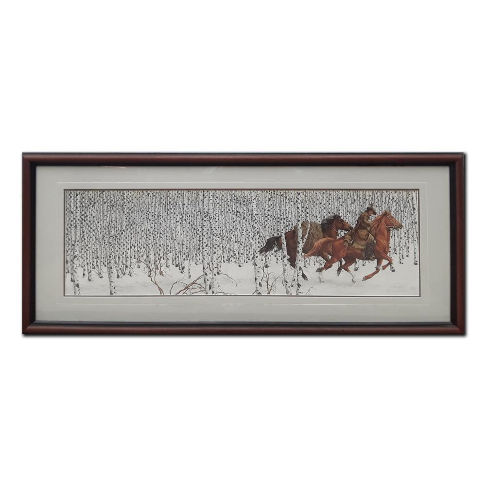 """Bev Doolittle's """"Sacred Ground"""" Limited Edition Framed Print"""