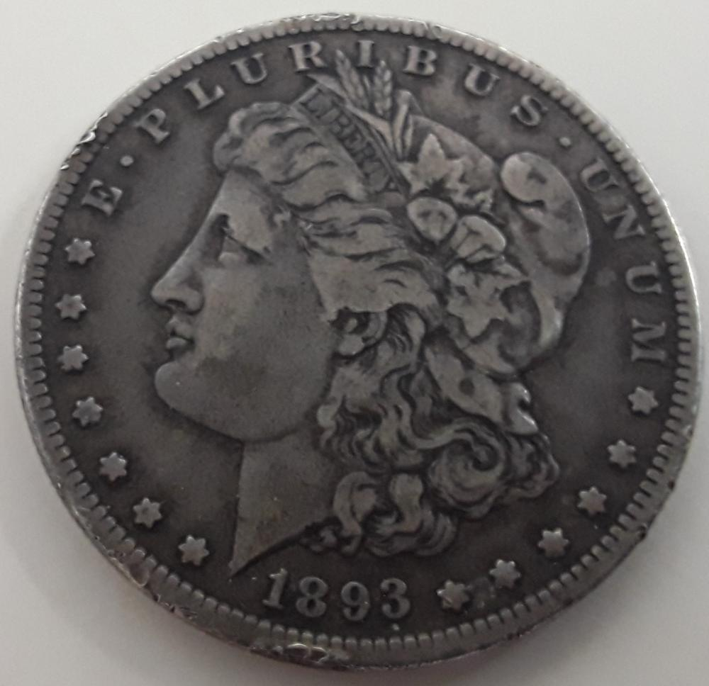 United States (US) - 1893-S Silver Dollar Coin