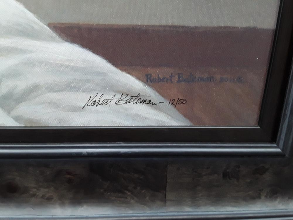 "Robert Bateman's ""Birdwatching"" Limited Edition Framed Canvas"