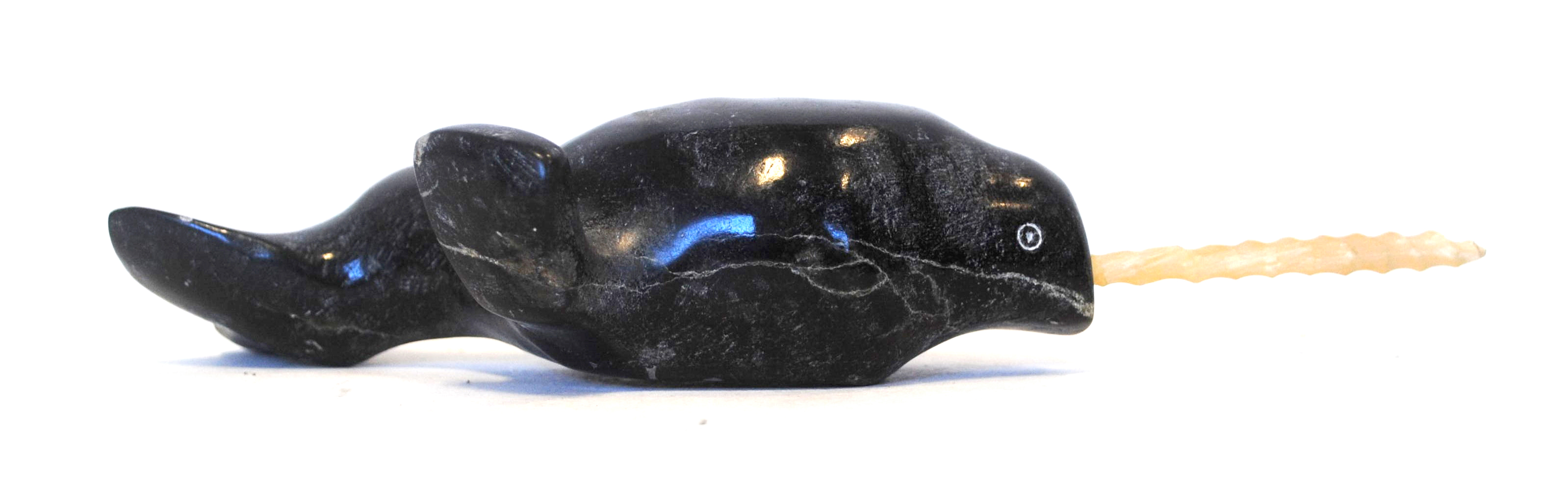 "David Kingatook's ""Norwhale"" Sculpture"