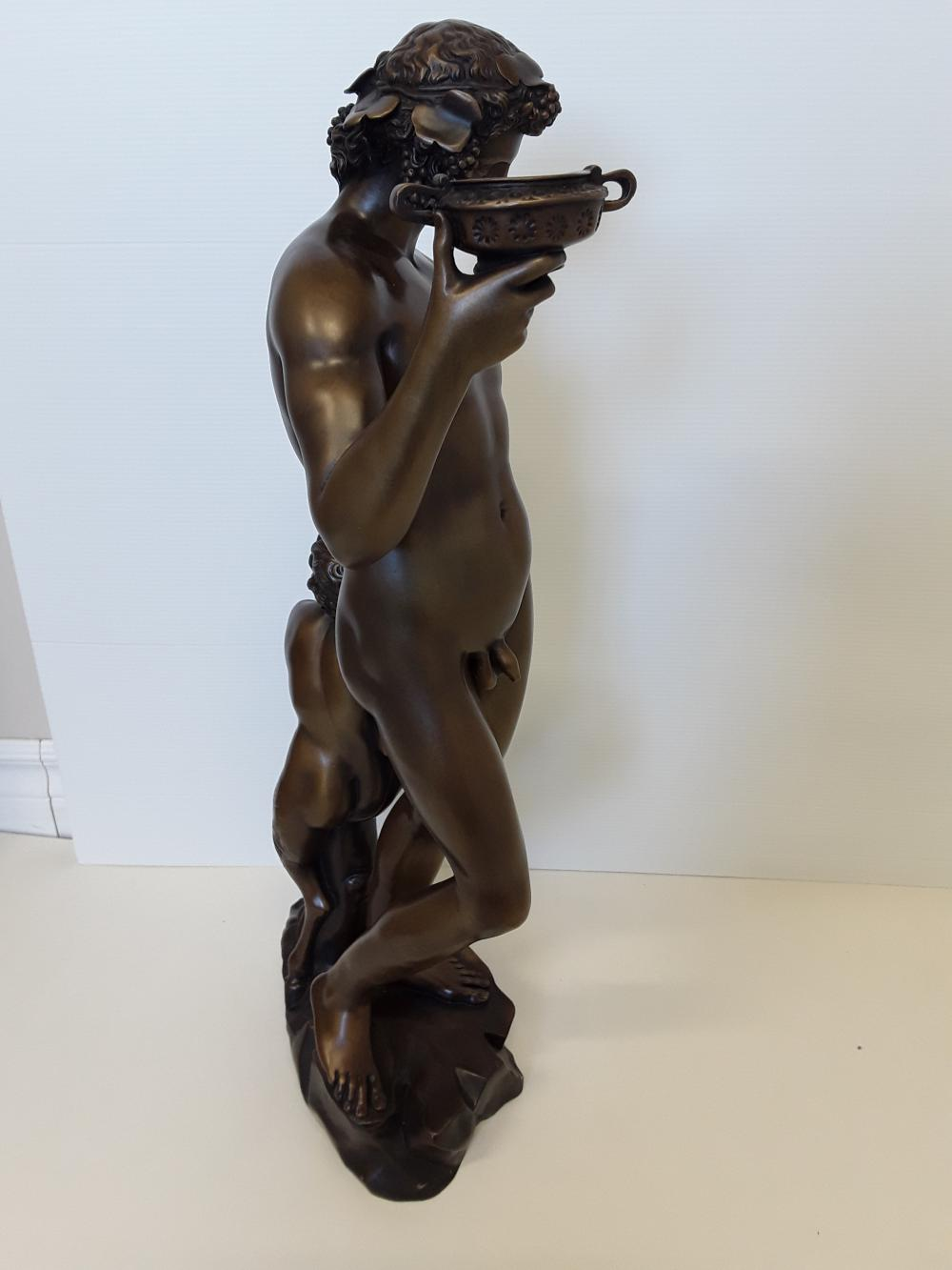 "Michelangelo's ""Bauchus"" Limited Edition Bronze Sculpture"