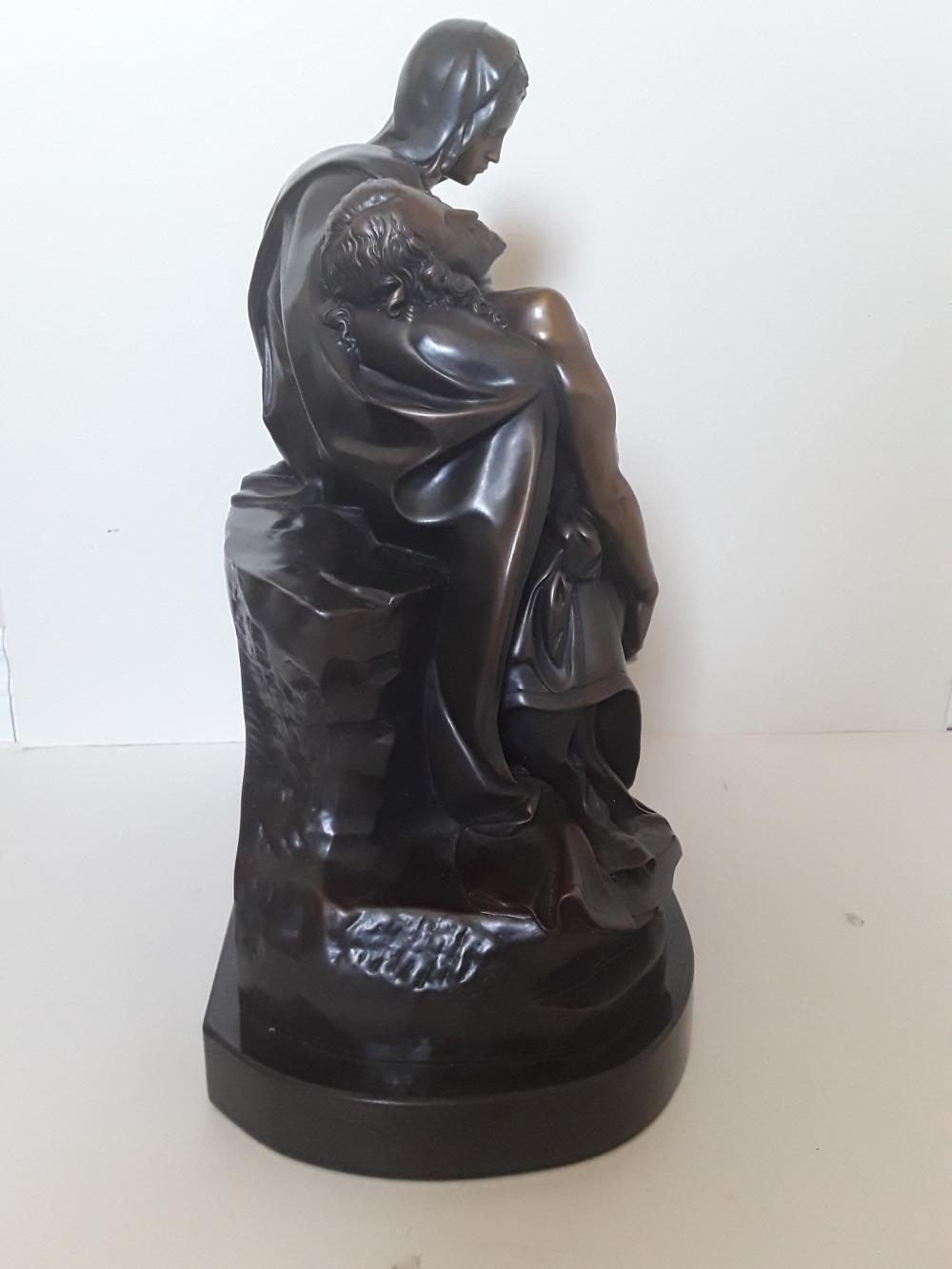 "Michelangelo's ""Pieta"" Limited Edition Bronze Sculpture"